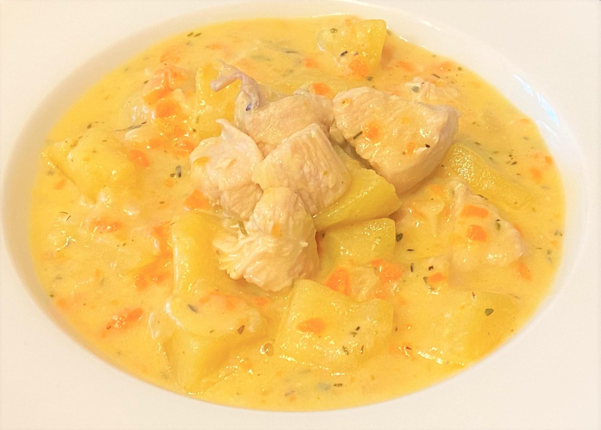 Chicken mustard casserole