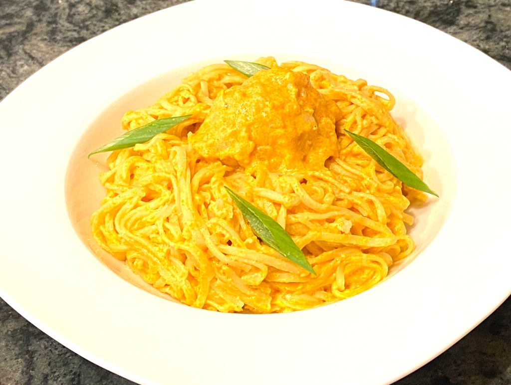 Cauliflower curry noodles delicious #natcooks